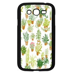 Flowers Pattern Samsung Galaxy Grand DUOS I9082 Case (Black)