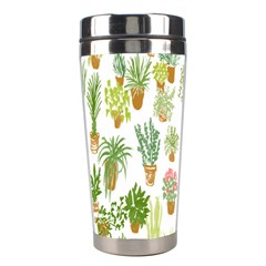 Flowers Pattern Stainless Steel Travel Tumblers