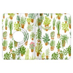 Flowers Pattern Kindle Fire HDX Flip 360 Case