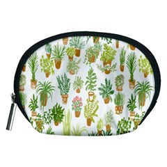 Flowers Pattern Accessory Pouches (Medium)