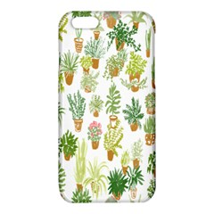 Flowers Pattern iPhone 6/6S TPU Case