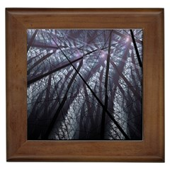Fractal Art Picture Definition  Fractured Fractal Texture Framed Tiles