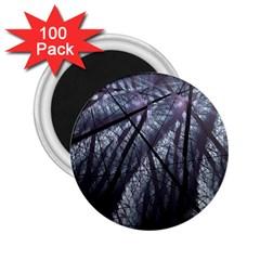 Fractal Art Picture Definition  Fractured Fractal Texture 2 25  Magnets (100 Pack)