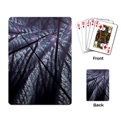 Fractal Art Picture Definition  Fractured Fractal Texture Playing Card
