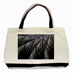 Fractal Art Picture Definition  Fractured Fractal Texture Basic Tote Bag