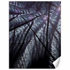 Fractal Art Picture Definition  Fractured Fractal Texture Canvas 12  x 16