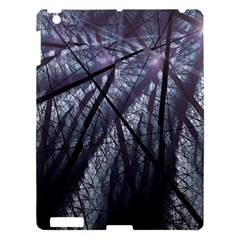 Fractal Art Picture Definition  Fractured Fractal Texture Apple iPad 3/4 Hardshell Case