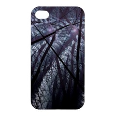 Fractal Art Picture Definition  Fractured Fractal Texture Apple iPhone 4/4S Premium Hardshell Case