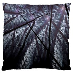 Fractal Art Picture Definition  Fractured Fractal Texture Large Cushion Case (One Side)