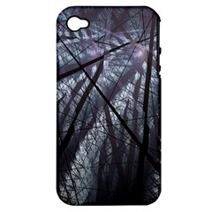 Fractal Art Picture Definition  Fractured Fractal Texture Apple iPhone 4/4S Hardshell Case (PC+Silicone)