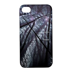 Fractal Art Picture Definition  Fractured Fractal Texture Apple iPhone 4/4S Hardshell Case with Stand
