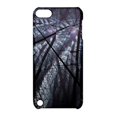 Fractal Art Picture Definition  Fractured Fractal Texture Apple iPod Touch 5 Hardshell Case with Stand