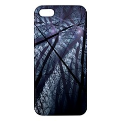 Fractal Art Picture Definition  Fractured Fractal Texture Apple iPhone 5 Premium Hardshell Case
