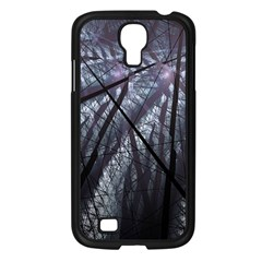 Fractal Art Picture Definition  Fractured Fractal Texture Samsung Galaxy S4 I9500/ I9505 Case (Black)