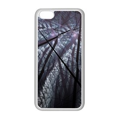 Fractal Art Picture Definition  Fractured Fractal Texture Apple iPhone 5C Seamless Case (White)
