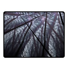 Fractal Art Picture Definition  Fractured Fractal Texture Double Sided Fleece Blanket (Small)