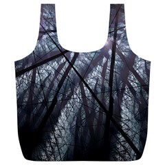 Fractal Art Picture Definition  Fractured Fractal Texture Full Print Recycle Bags (L)