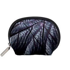 Fractal Art Picture Definition  Fractured Fractal Texture Accessory Pouches (small)