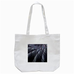 Fractal Art Picture Definition  Fractured Fractal Texture Tote Bag (White)