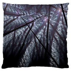 Fractal Art Picture Definition  Fractured Fractal Texture Large Flano Cushion Case (Two Sides)