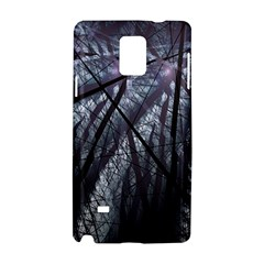 Fractal Art Picture Definition  Fractured Fractal Texture Samsung Galaxy Note 4 Hardshell Case