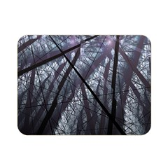 Fractal Art Picture Definition  Fractured Fractal Texture Double Sided Flano Blanket (mini)
