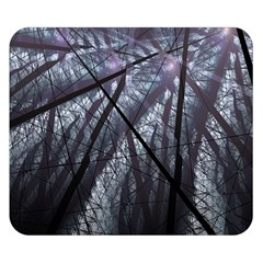Fractal Art Picture Definition  Fractured Fractal Texture Double Sided Flano Blanket (Small)