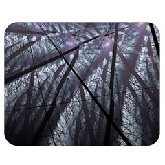 Fractal Art Picture Definition  Fractured Fractal Texture Double Sided Flano Blanket (medium)