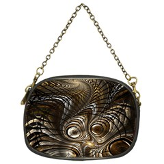 Fractal Art Texture Neuron Chaos Fracture Broken Synapse Chain Purses (one Side)