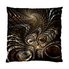 Fractal Art Texture Neuron Chaos Fracture Broken Synapse Standard Cushion Case (two Sides)