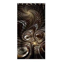 Fractal Art Texture Neuron Chaos Fracture Broken Synapse Shower Curtain 36  x 72  (Stall)