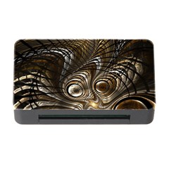 Fractal Art Texture Neuron Chaos Fracture Broken Synapse Memory Card Reader with CF