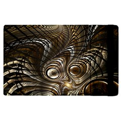 Fractal Art Texture Neuron Chaos Fracture Broken Synapse Apple iPad 2 Flip Case