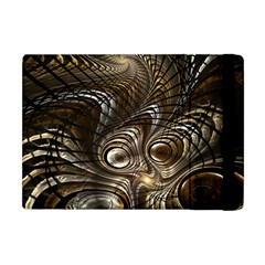 Fractal Art Texture Neuron Chaos Fracture Broken Synapse Apple Ipad Mini Flip Case