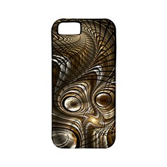 Fractal Art Texture Neuron Chaos Fracture Broken Synapse Apple iPhone 5 Classic Hardshell Case (PC+Silicone)