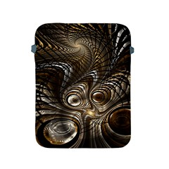 Fractal Art Texture Neuron Chaos Fracture Broken Synapse Apple iPad 2/3/4 Protective Soft Cases