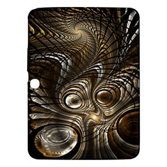 Fractal Art Texture Neuron Chaos Fracture Broken Synapse Samsung Galaxy Tab 3 (10.1 ) P5200 Hardshell Case