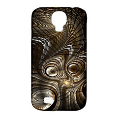 Fractal Art Texture Neuron Chaos Fracture Broken Synapse Samsung Galaxy S4 Classic Hardshell Case (PC+Silicone)