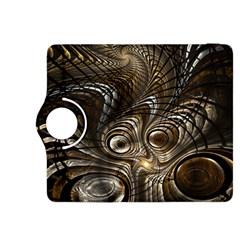 Fractal Art Texture Neuron Chaos Fracture Broken Synapse Kindle Fire HDX 8.9  Flip 360 Case