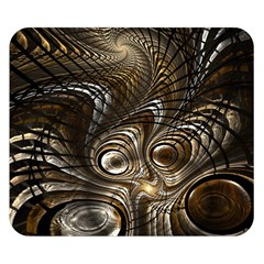 Fractal Art Texture Neuron Chaos Fracture Broken Synapse Double Sided Flano Blanket (Small)