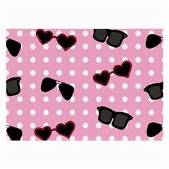 Pisunglass Tech Pink Pattern Large Glasses Cloth (2-Side)