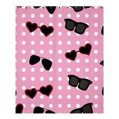 Pisunglass Tech Pink Pattern Shower Curtain 60  x 72  (Medium)