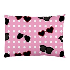 Pisunglass Tech Pink Pattern Pillow Case (Two Sides)