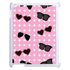 Pisunglass Tech Pink Pattern Apple Ipad 2 Case (white)
