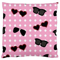 Pisunglass Tech Pink Pattern Large Cushion Case (Two Sides)