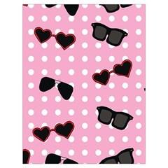 Pisunglass Tech Pink Pattern Drawstring Bag (Large)