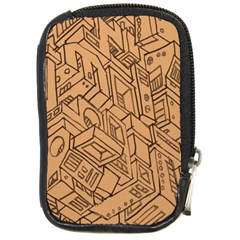 Mechanical Tech Pattern Compact Camera Cases