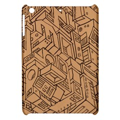 Mechanical Tech Pattern Apple iPad Mini Hardshell Case