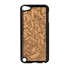Mechanical Tech Pattern Apple iPod Touch 5 Case (Black)