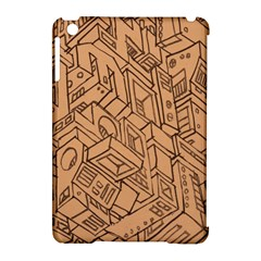 Mechanical Tech Pattern Apple Ipad Mini Hardshell Case (compatible With Smart Cover)